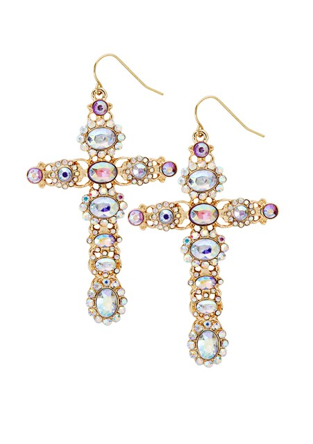 Katy Perry Crystal Oversized Cross Drop Earrings 9,99EUR 8.00GBP 16,90CHF 39,90PLN