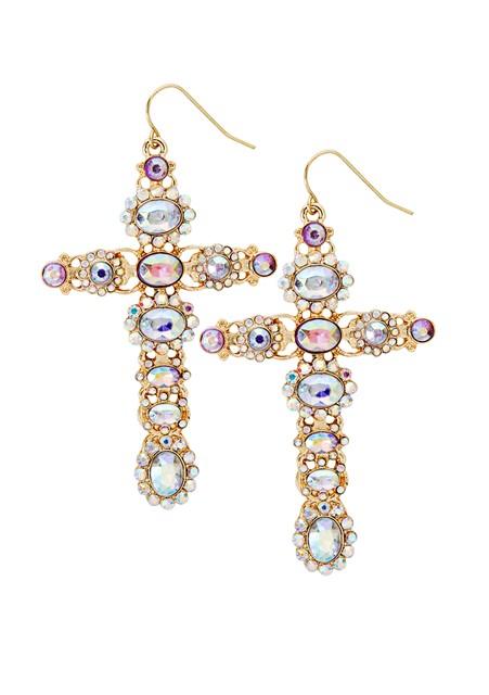 Katy Perry Crystal Oversized Cross Drop Earrings 9,99EUR 8.00GBP 16,90CHF 39,90PLN