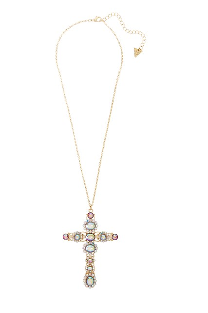 Katy Perry Crystal Oversized Cross Pendant Necklace 12,99EUR 10.00GBP 22,90CHF 51,90PLN