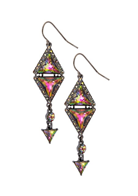 Katy Perry Double PRISM with Rhinestones Drop Earrings 9,99EUR 8.00GBP 16,90CHF 39,90PLN