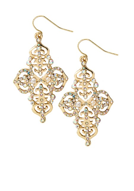 Katy Perry Gold Filigree Drop Earrings 9,99EUR 8.00GBP 16,90CHF 39,90PLN