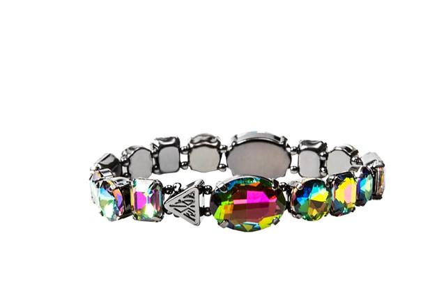 Katy Perry Iridescent Crystal Gems Stretch Bracelet Hematite 8,99EUR 7.00GBP 14,90CHF 35,90PLN